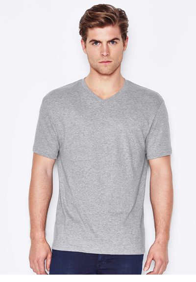Keya Men's V Neck Euro Fit T-shirt 150GSM