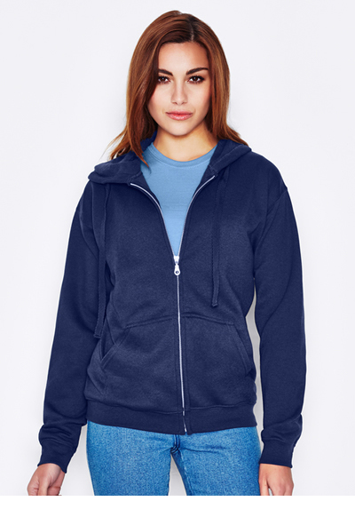 Keya Unisex Euro Fit Hooded Zip 280 GSM